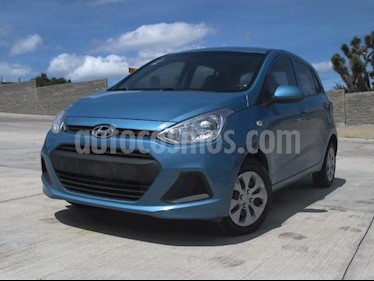 Foto venta Auto usado Hyundai Grand i10 GL MID (2017) color Aqua precio $150,000