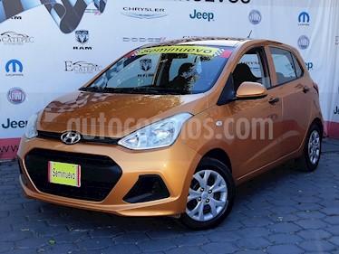 Foto venta Auto usado Hyundai Grand i10 GL MID (2015) color Naranja precio $139,000