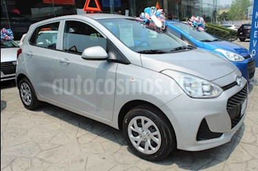 Foto venta Auto usado Hyundai Grand i10 GL MID (2019) color Plata precio $193,300