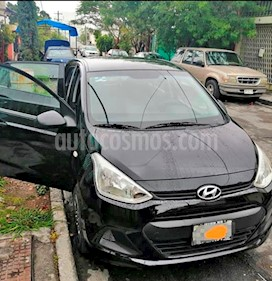 Foto venta Auto usado Hyundai Grand i10 GL MID (2015) color Negro precio $115,000