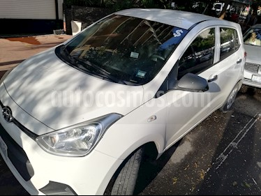 Hyundai Grand i10 GL MID usado (2016) color Blanco precio $115,000