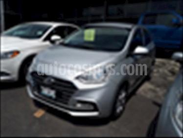 Hyundai Grand i10 GL TM usado (2018) color Plata precio $180,000