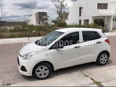 Foto venta Auto usado Hyundai Grand i10 GL (2017) color Blanco precio $135,000