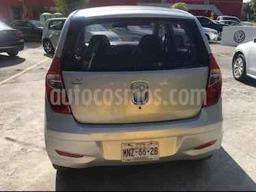 Foto venta Auto usado Hyundai Grand i10 GL (2013) color Plata precio $87,000