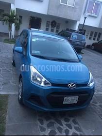 Hyundai Grand i10 GL usado (2017) color Azul precio $135,000