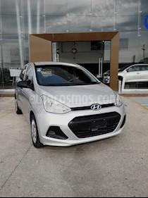 Foto venta Auto usado Hyundai Grand i10 GL (2016) color Plata precio $130,000