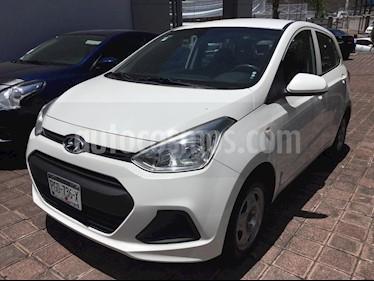 Foto venta Auto usado Hyundai Grand i10 GL (2017) color Blanco precio $150,000