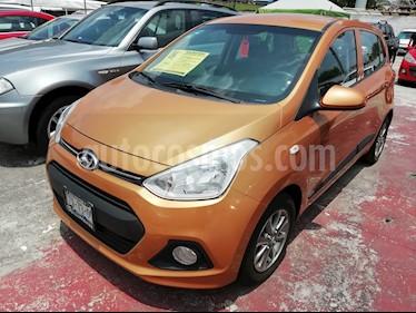 Foto venta Auto usado Hyundai Grand i10 GL (2016) color Naranja precio $145,000