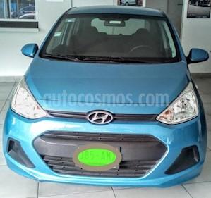 Foto venta Auto usado Hyundai Grand i10 GL (2017) color Azul precio $149,000