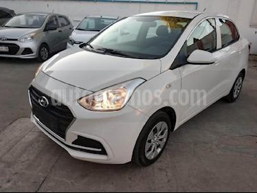 Foto venta Auto usado Hyundai Grand i10 GL (2018) color Blanco precio $180,000