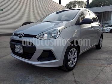 Foto venta Auto usado Hyundai Grand i10 GL (2015) color Plata precio $119,000