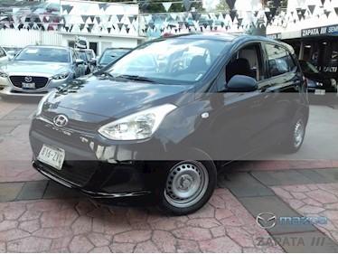 Foto venta Auto usado Hyundai Grand i10 GL (2015) color Negro precio $125,000