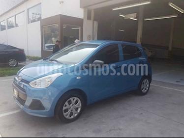 Foto Hyundai Grand i10 GL usado (2016) color Azul precio $120,000