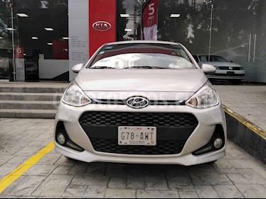 Foto venta Auto usado Hyundai Grand i10 GLS Aut (2018) color Plata precio $180,000
