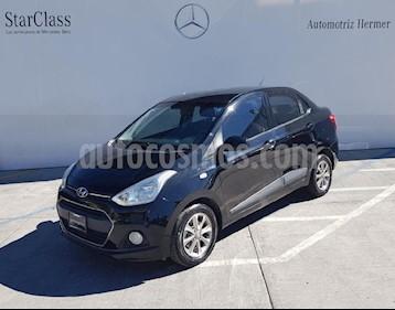 Foto venta Auto usado Hyundai Grand i10 GLS Aut (2016) color Negro precio $199,900