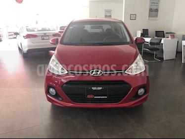 Foto venta Auto usado Hyundai Grand i10 GLS Aut (2017) color Rojo precio $159,000