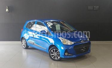 Foto venta Auto usado Hyundai Grand i10 GLS Aut (2018) color Azul precio $205,000