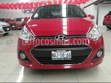 Foto venta Auto Seminuevo Hyundai Grand i10 GLS Aut (2017) color Rojo precio $172,000