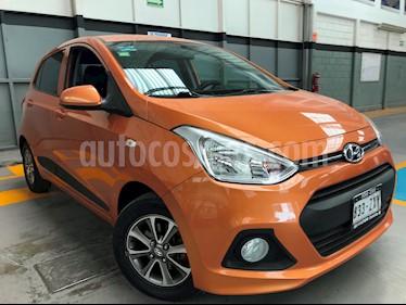 Foto venta Auto usado Hyundai Grand i10 GLS (2015) color Naranja precio $149,000