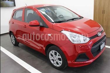 Hyundai Grand i10 GLS usado (2017) color Rojo precio $165,000