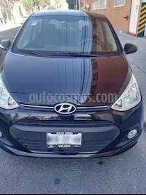 Foto venta Auto usado Hyundai Grand i10 GLS (2015) color Negro precio $125,000