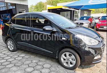 Foto venta Auto usado Hyundai Grand i10 GLS (2018) color Negro precio $200,000