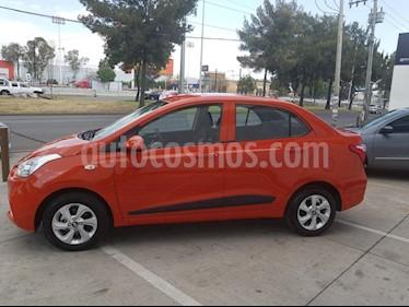 Foto venta Auto usado Hyundai Grand i10 GLS (2018) color Naranja precio $217,500