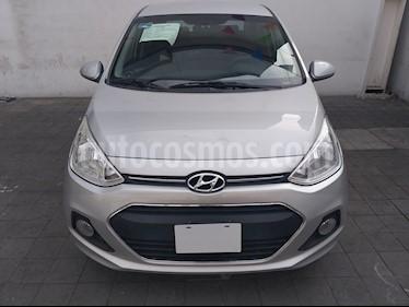 Foto venta Auto usado Hyundai Grand i10 GLS (2017) color Plata precio $165,000