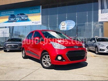 Foto venta Auto usado Hyundai Grand i10 GLS (2016) color Rojo precio $160,000