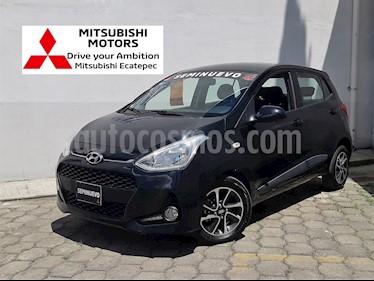 Foto venta Auto usado Hyundai Grand i10 GLS (2018) color Negro precio $189,900