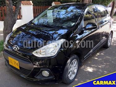 Foto venta Carro Usado Hyundai Grand i10 Kappa 1.2 (2016) color Negro precio $30.900.000
