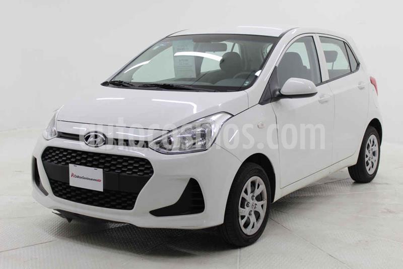 Hyundai Grand i10 GL MID usado (2019) color Blanco precio $170,000