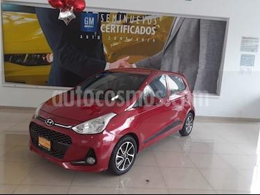 Hyundai Grand i10 GLS Aut usado (2018) color Rojo precio $169,900