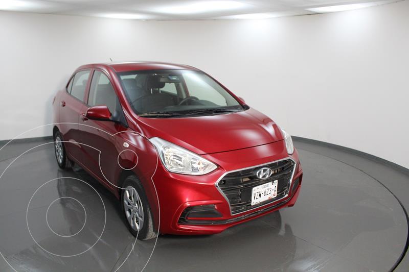 Hyundai Grand i10 GL MID usado (2020) color Rojo precio $198,999