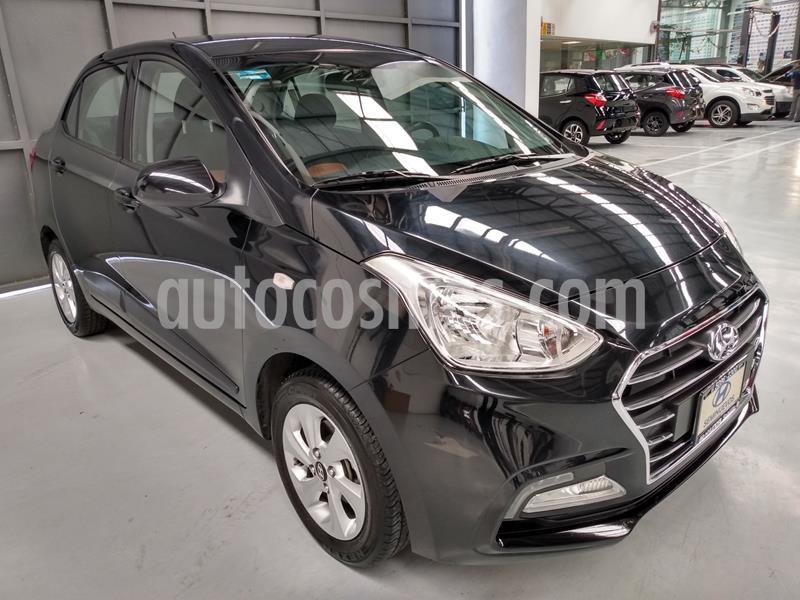 Hyundai Grand i10 GLS usado (2020) color Negro precio $220,000