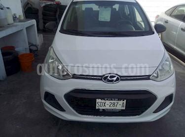 Hyundai Grand i10 GL usado (2017) color Blanco precio $135,000