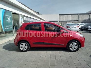 Hyundai Grand i10 GLS usado (2018) color Rojo precio $190,000