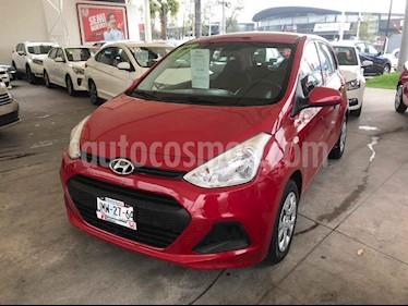 Hyundai Grand i10 GLS Aut usado (2017) color Rojo precio $163,000