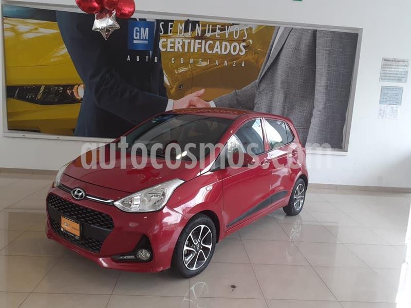 Hyundai Grand i10 GLS usado (2018) color Rojo precio $155,900