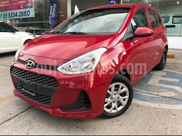 Hyundai Grand i10 GL MID Aut usado (2018) color Rojo precio $165,000