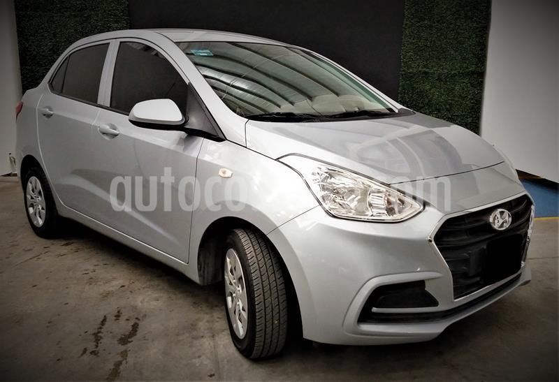 Hyundai Grand i10 GL MID usado (2020) color Plata precio $189,999