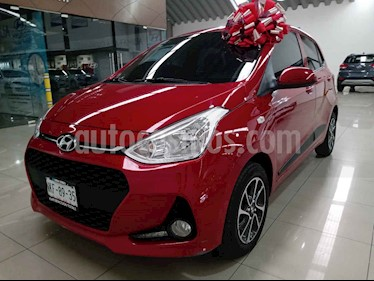 Hyundai Grand i10 GLS usado (2019) color Rojo precio $197,000