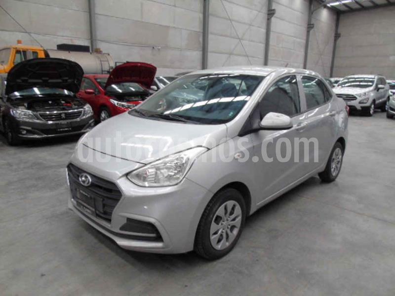 Hyundai Grand i10 GL MID Aut usado (2018) color Plata precio $83,000