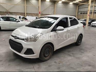 Hyundai Grand i10 GL MID Aut usado (2017) color Blanco precio $53,000