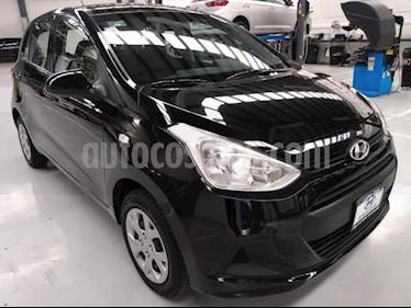 Hyundai Grand i10 5P HB GL MID AT A/AC. R-14 usado (2016) color Negro precio $132,000
