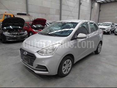 Hyundai Grand i10 GL MID Aut usado (2018) color Plata precio $75,000