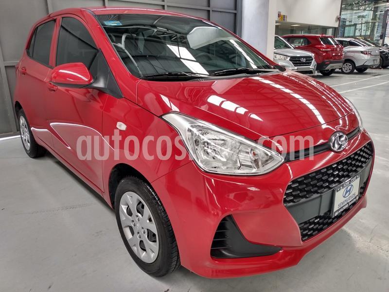 Hyundai Grand i10 GL MID usado (2020) color Rojo precio $192,900