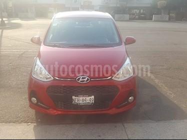 Hyundai Grand i10 GLS usado (2018) color Rojo precio $149,000