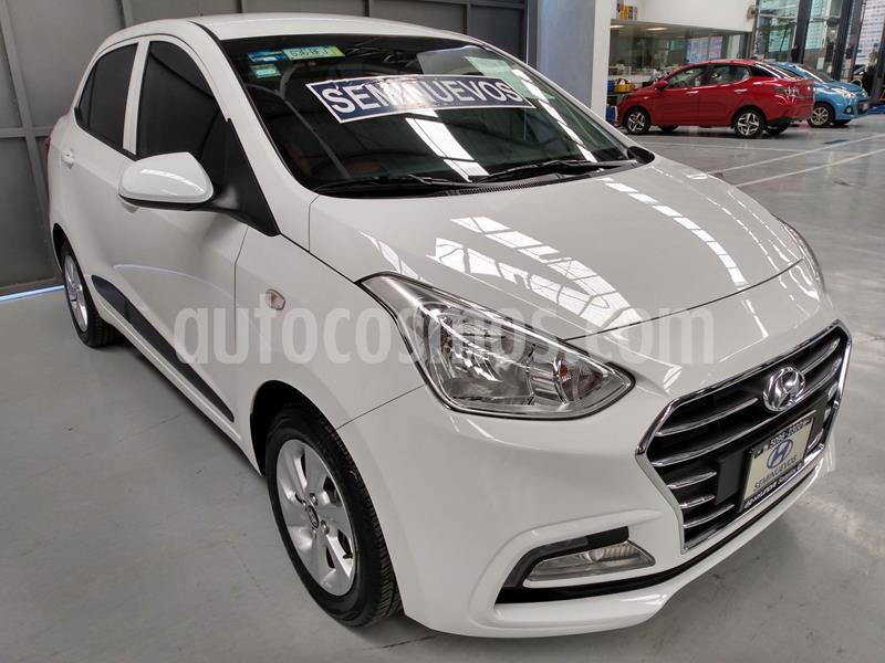 Hyundai Grand i10 GLS usado (2020) color Blanco precio $220,000