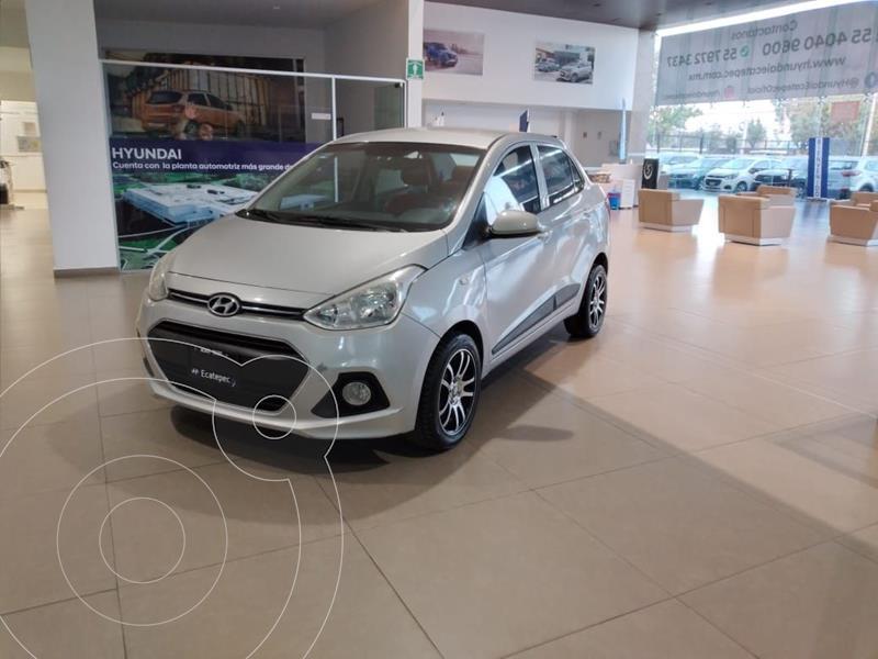 Foto Hyundai Grand i10 GLS usado (2015) color Plata Dorado precio $135,000
